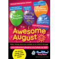 Awesome August poster
