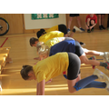 Getting fit with our paralympian visitor