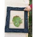 A leaf man
