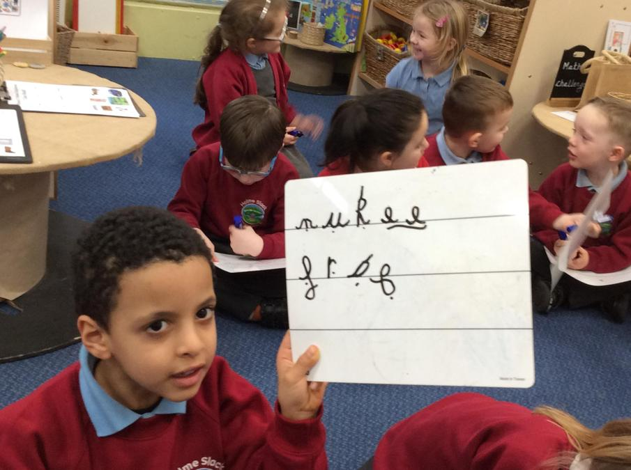 Applying phonic knowledge