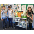 The centre praised the children and families for their generosity.
