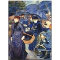 We studied the painting 'Umbrellas' by Renoir