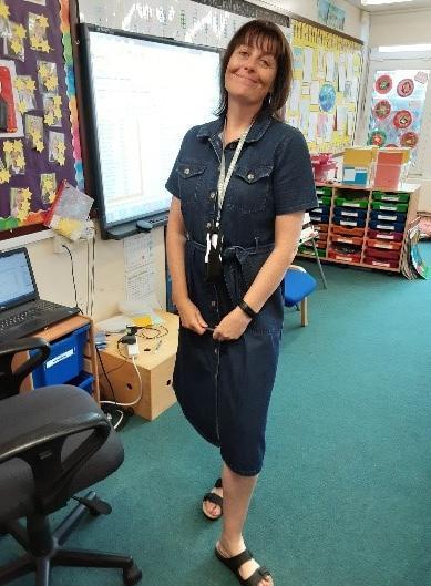 Mrs Ahmed, Classteacher