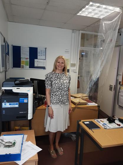 Mrs Barton, Teaching Assistant