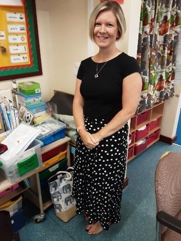 Mrs Gordon, Classteacher