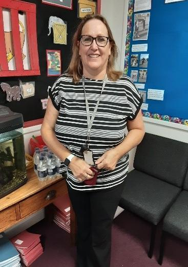 Mrs Malcolm, Teaching Assistant