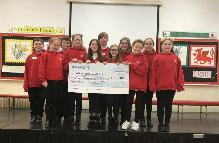 Well done to the choir who helped in raising £12,700 for Uganda from performing at St. David's Hall!