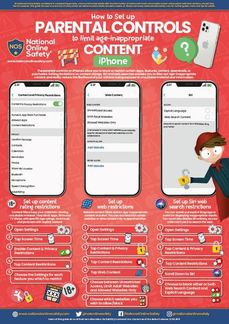 iPhone Parental Controls Guide