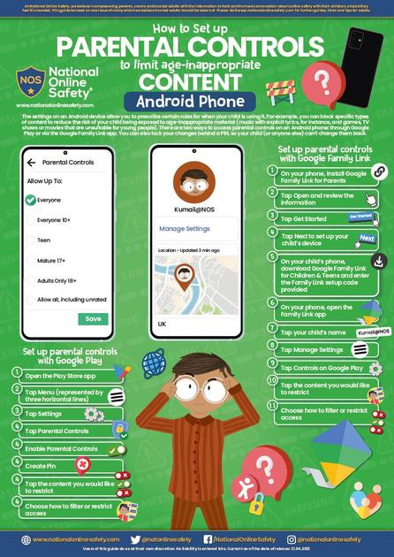 Android Parental Controls Guide