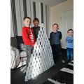 Building a plastic cup tower