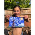 Learning to paint like Van Gogh by Mya Nation