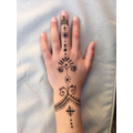 Mrs Nation has been doing Henna tattoos