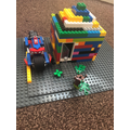 Making a Lego house