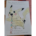 Pokemon picture and poem