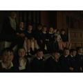 We sat sensibly and even sang along.