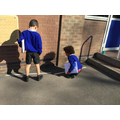 Measuring using metre sticks