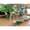 We tried each type of drum