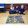 We enjoyed creating large scale art work