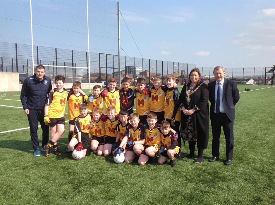 2019 Winning Team with the Belfast Mayor