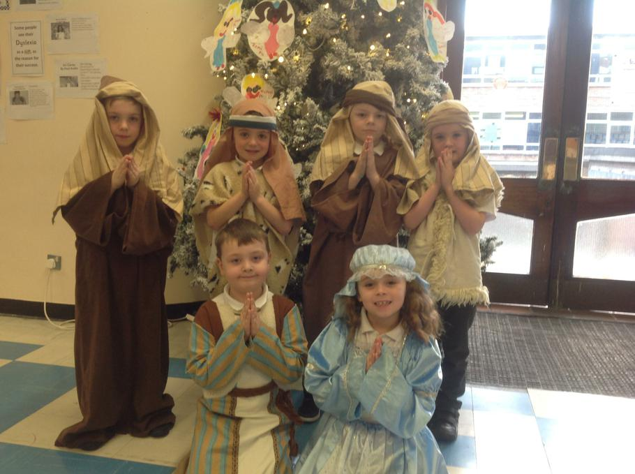 Mary, Joseph and the Shepherds
