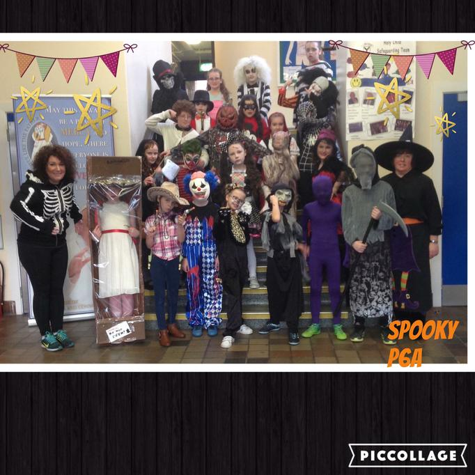 Happy Halloween from P6A