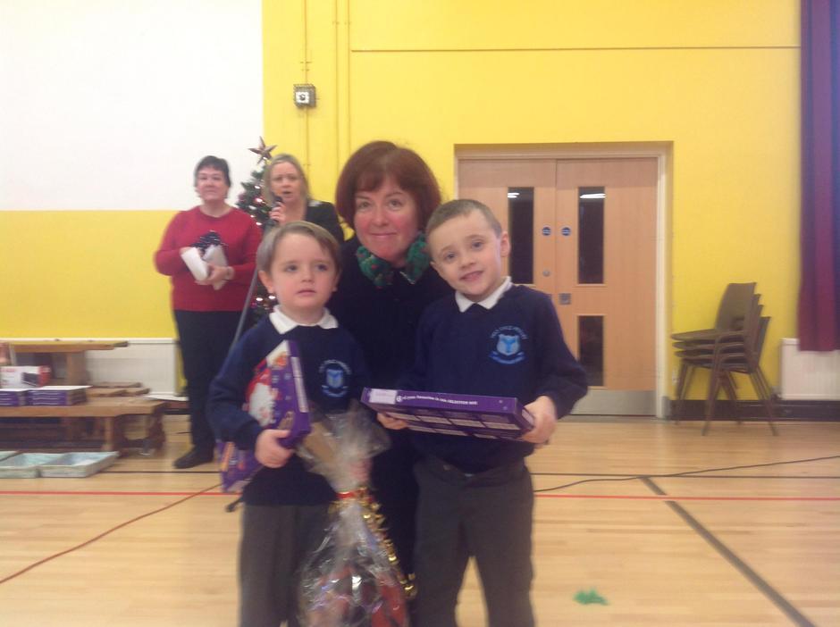 Primary 1 Winners