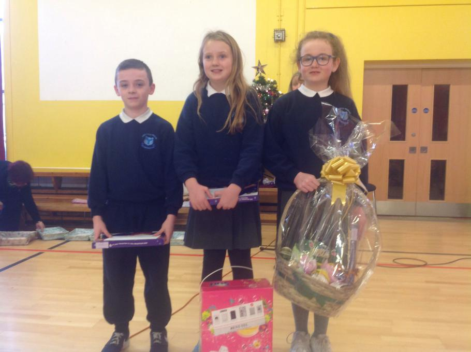Primary 7 Winners