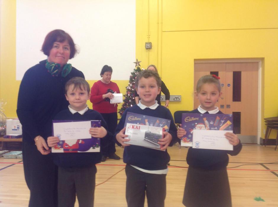 Primary 3 Winners