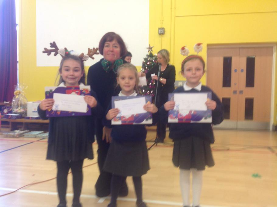 Primary 2 Winners