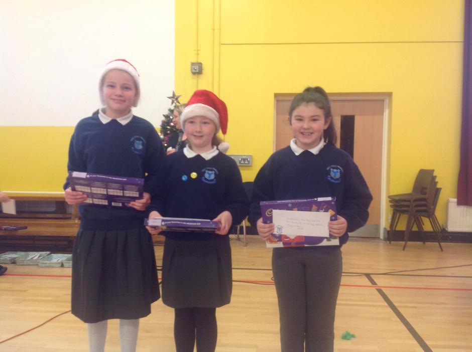 Primary 5 Winners