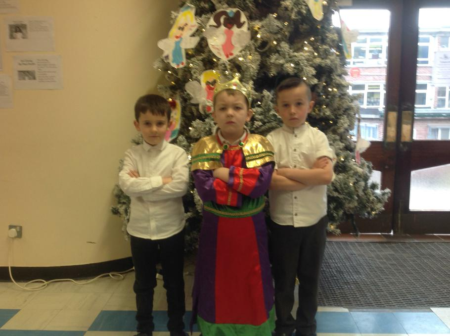 Herod and his body guards