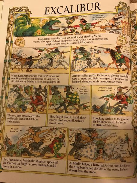 Excalibur page 1