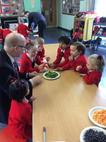 Rainbow foods help us to see!