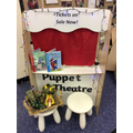 Dinosaur puppet shows!