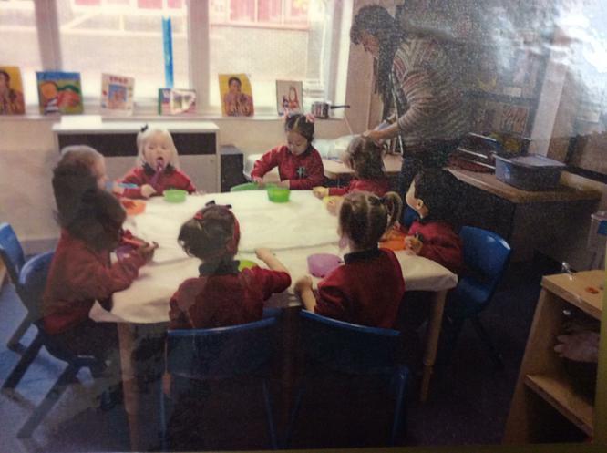 We enjoyed eating the porridge we had made.