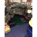 Come and read in our Dinosaurs Den.