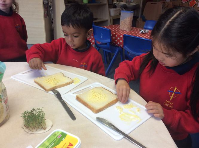 Our cress smells lovely!