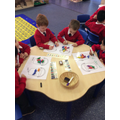 Maths with 'Harry and the bucketful of dinosaurs'