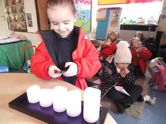 Technology is all around us in Nursery