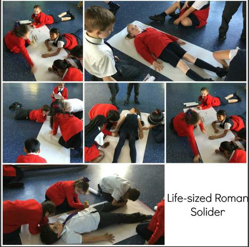Life-sized Roman Solider