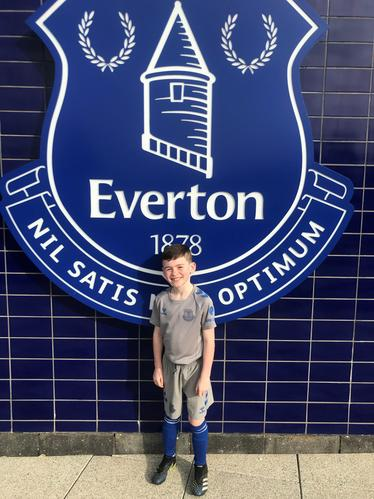 Signed by Everton FC
