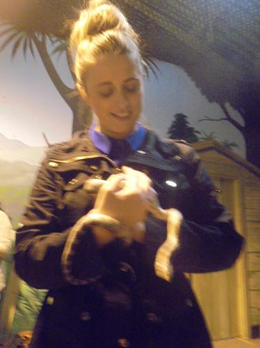 The snake was Mrs Oprey's favourite.