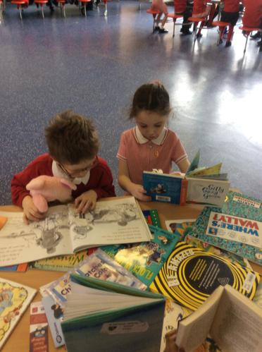 We loved reading the books.