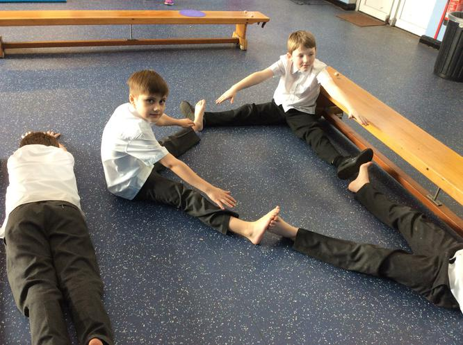Maths in PE: What shape have we created?