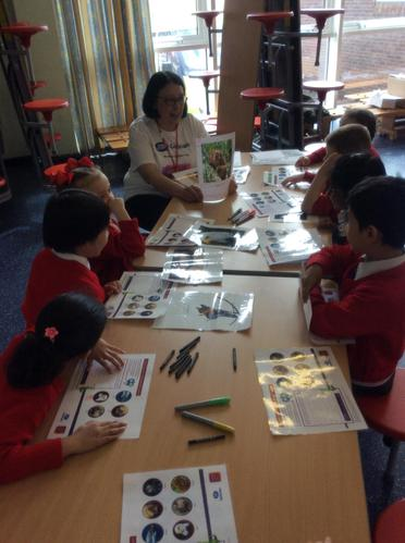 We learnt about animals and their eyesight.