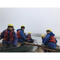 12. Having great fun canoeing