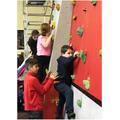 60. Climbing wall