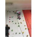 52. Climbing wall