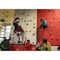96. Climbing wall