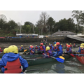 8. Having great fun canoeing